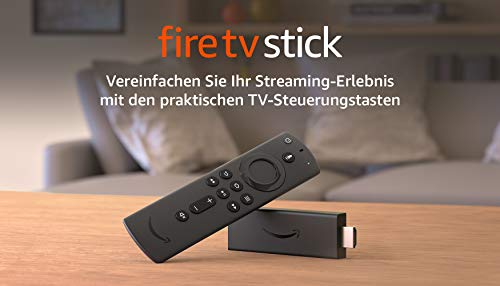 FireTVStick, Zertifiziert und generalüberholt | Mit Alexa-Sprachfernbedienung (mit TV-Steuerungstasten) und DolbyAtmos-Klang, 2020