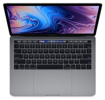 Apple MacBook Pro (13' Retina, Touch Bar, 2.4GHz Quad-core Intel Core i5, 16GB RAM, 512GB SSD) - Space Gray (Latest Model)