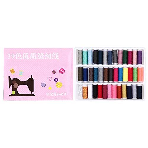 ミシン糸 39色セット DIY 手縫い糸 刺繍糸