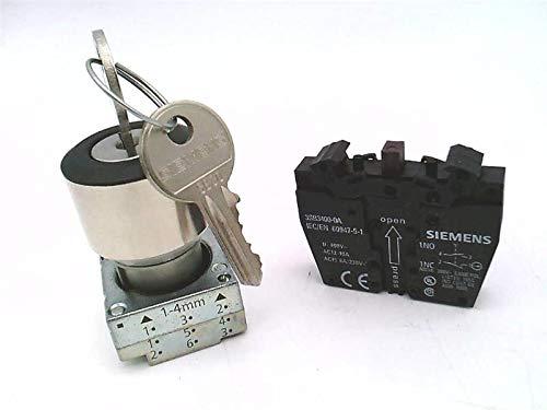 FURNAS ELECTRIC CO 3SB3601-4AD11 2POS, Kyd SEL SW, All, MTND, CPLT, RND-MTL