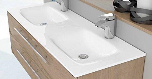 LAVABO SOBRE MUEBLE ART&BATH FENIX 2 SENOS TODO MASA 1210X460 (NO INCLUYE MUEBLE)