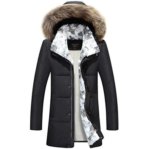 MCSZG Blanc Duvet de Canard Veste Femmes Hiver Plume d'oie Automne Dame Manteau LongParka ChaudPlus La Taille Survêtement 5XL