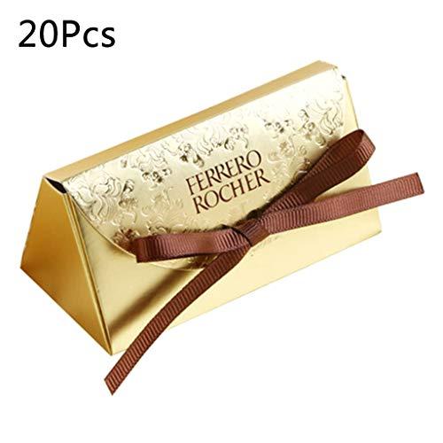 JERKKY Caja de Dulces 20 Piezas Regalos de Boda...