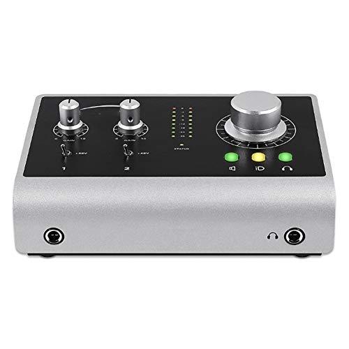 YYZLG Grabación Profesional Tarjeta de Sonido Guitarra Instrumento Arreglador de grabación USB Interfaz de Audio Externo