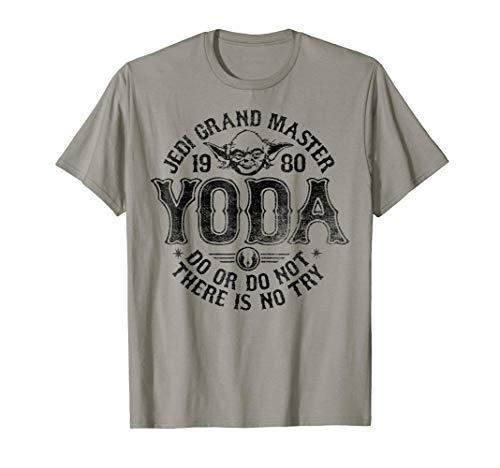 Star Wars Yoda Master 1980 Do Or Do Not T-Shirt T-Shirt