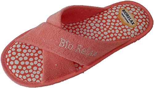 Zapatillas de Estar por casa/Mujer/Biorelax/Rizo