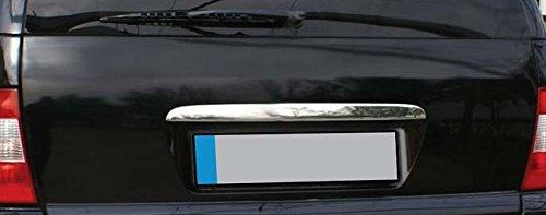 Mercedes ML-KLasse W163 Chrom Heckleiste über Kennzeichen Kofferraum Leiste