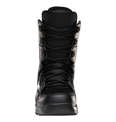 DC Men's Phase Lace Up Snowboard Boots, Black, 10