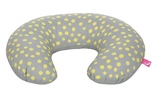Motherhood Stillkissen ergonomisch, Öko-Tex Standard 100, Kleckse gelb