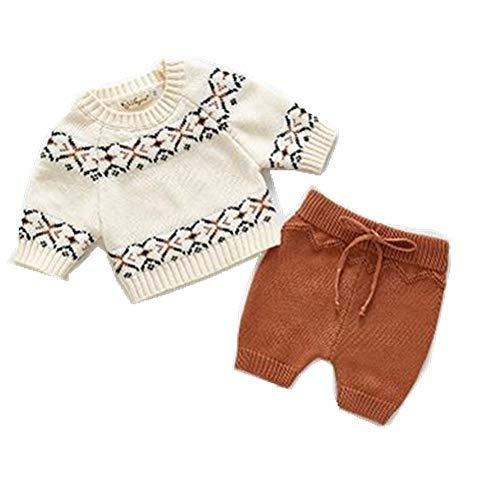 Baby Kleding Baby Meisjes Jongens Kleding Set Trui + Shorts Outfits Ruche Lente Winter Peuter Baby Set