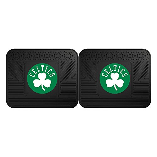 FANMATS 12433 NBA - Boston Celtics Utility Mat - 2 Piece , 14'x17'
