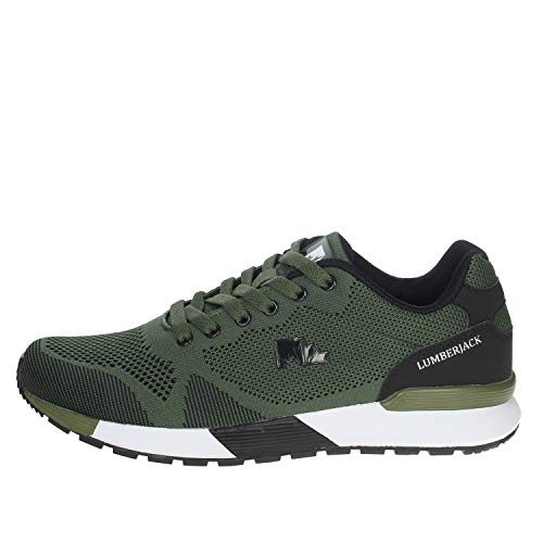Lumberjack Vendor, Sneaker Uomo, Verde (Military Green/Black M0787), 43 EU