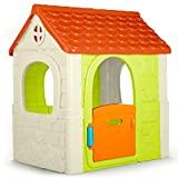 FEBER- Fantasy House Casetta da Gioco, Tradizionale, Grande, 85x108x124 cm...