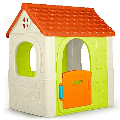 Feber 800010237 Fantasy House Playhouse, Multicoloured