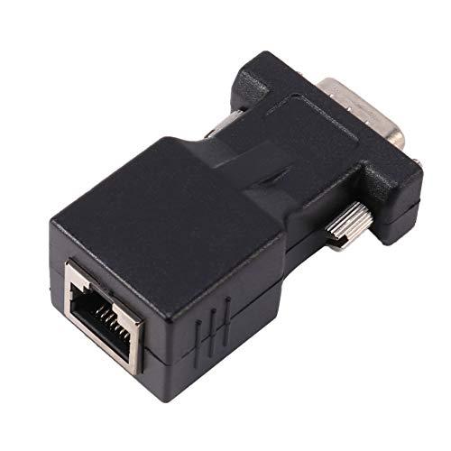 Gfhrisyty VGA Extender macho a LAN CAT5 CAT6 RJ45 Cable de red