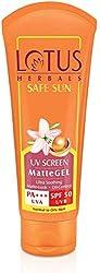 Lotus Herbals Safe Sun UV Screen Matte Gel SPF 50