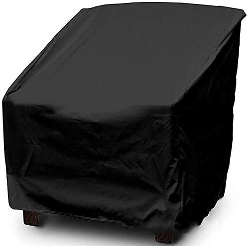 Garden Furniture Cover, Balkon Tafel En Stoel Shed Waterdicht Buiten Dust Cover 190 Gecoat Zilver (Size : Medium 64 * 71 * 70/86cm)