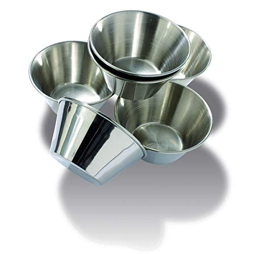 Canghai Lot de 2 moules /à g/âteau ronds avec base amovible 15,2 cm antiadh/ésif en aluminium avec fond amovible