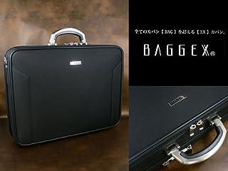 ウノフク BAGGEX ORIGIN バジェックス オリジン ビジネス アタッシェケース ブリーフケース ショルダーバッグ B4 2ルーム 日本製 ブラック 24-0283-10