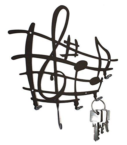 Tablero llaves - hoja música - ganchos llaves