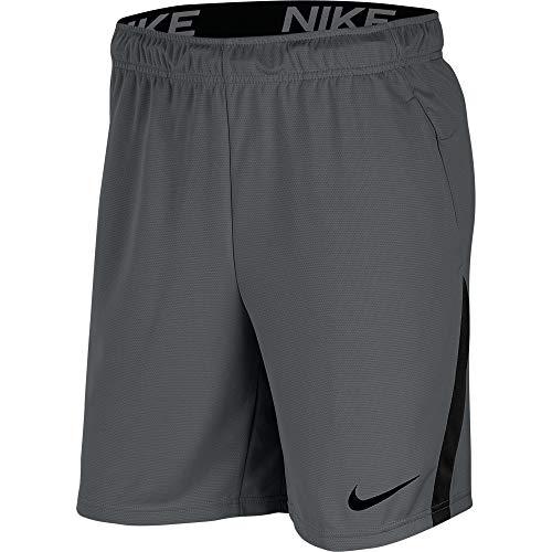 Nike Mens M Nk Dry 5.0 Shorts, Iron Grey/Black/Black, L