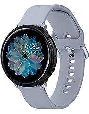 Spigen Samsung Galaxy Watch Active 2 (40mm) Kılıf Liquid Air / Matte Black - ACS00218