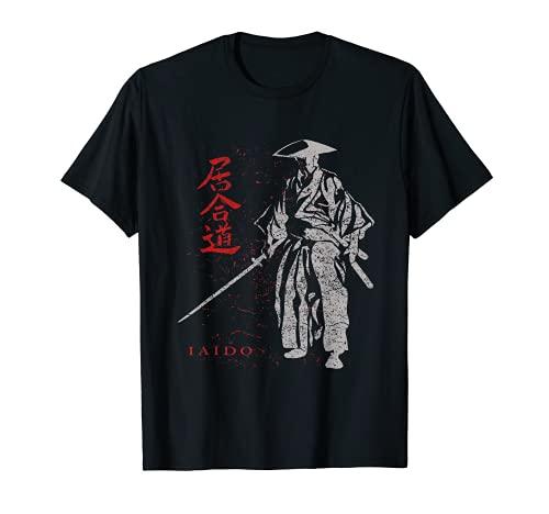 居合道、日本の武士の剣術 Tシャツ