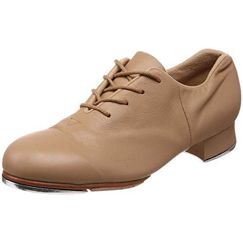 Bloch womens Women's Tap-flex dance shoes, Tan, 4.5 US