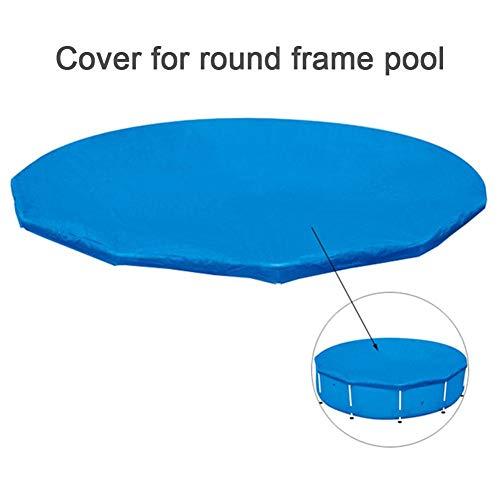 xianjun Abdeckplane Pool Rund Pool Cover Poolabdeckungen Poolabdeckung Rund Schwimmbecken Abdeckung Rund Sicherheitsabdeckung Schwimmbadabdeckung für Pool