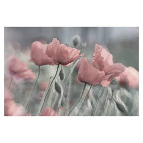 Bilderwelten Vliestapete - Malerische Mohnblumen - Fototapete Quer Vlies Tapete Wandtapete Wandbild Foto, Größe HxB: 290cm x 432cm