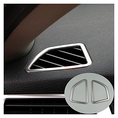 furong Etiqueta engomada de la decoración de la Consola de la Consola del Estilo del Coche Ajuste para BMW X5 X6 E70 E71 2008-14 LHD Accesorios Interiores (Color Name : Dashboard Air Vent)