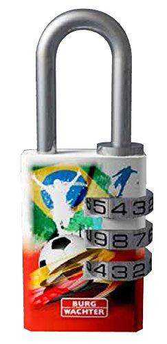 BURG-WÄCHTER Vorhängeschloss, 5 mm Bügelstärke, 2 Schlüssel, 91 F 30 Graffiti SB