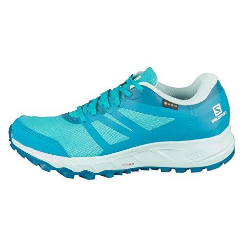 Salomon TRAILSTER 2 GTX W, Zapatillas de Running para Asfalto Mujer, Azul (Bluebird/Icy Morn/Lyons Blue), 36 EU