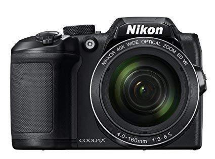 Nikon COOLPIX B500 Digital Camera (Black) International Model No Warranty