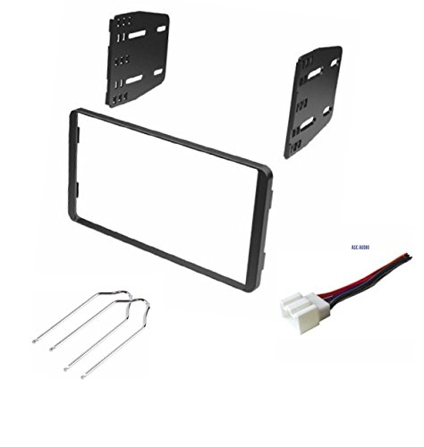 Car Stereo Dash Kit, Wire Harness, and Radio Tool for Installing a Double Din Radio for Some Ford Vehicles - See Compatible Vehicles Below- No Factory Premium Amp