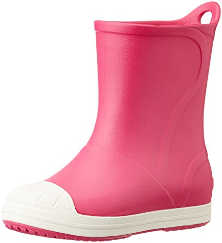 Crocs Bump It Boot Kids, Unisex - Kinder Gummistiefel, Pink (Candy Pink/Oyster), 33/34 EU