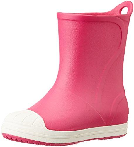 Crocs BumpItBootK, Stivaletti Unisex – Bambini, Rosa (Candy Pink/Oyster), 33/34 EU