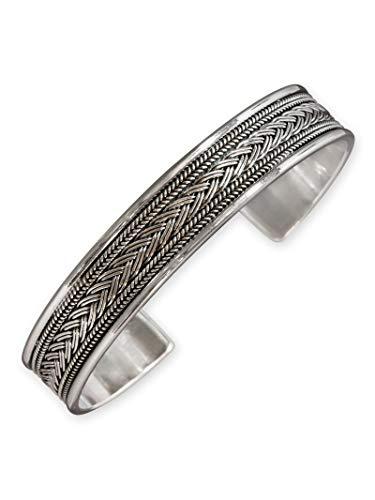 Fly Style Armreif aus 925 Sterling Silber für Damen und Herren - Wikinger Schmuck, Modelle:Bragi