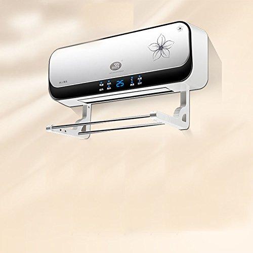 HAIZHEN Radiateur électrique Chauffage Électrique PTC Chauffage Céramique Tenture Murale Bain Chambre Double Usage Étanche Économie d'énergie