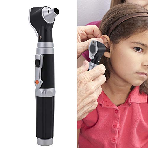 Ear Check Magnifier with LED, 3x Magnification Visual Otoscope, Inspection...