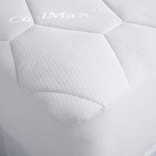 Soak&Sleep Waterproof Quilted Protector with Coolmax - Double