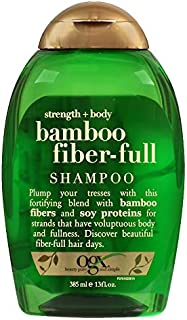 OGX Strength and Body Bamboo Fiber,Full Shampoo, 13oz, 385 ml