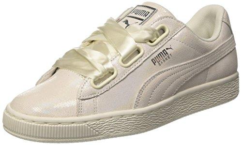 PUMA Basket Heart NS, Sneaker, Weiß (White-White), 40 EU (6.5 UK)