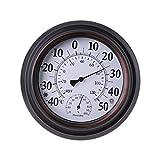Termómetro higrómetro vintage a gran escala ℃ ℉ Humedad
