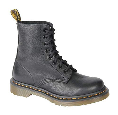 Dr Martens Pascal, Stivali Donna, Nero (Black Virginia), 39 EU (6 UK)