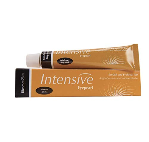 Intensive Lash and Brow Hair Tint - Deep Black 0.68 Ounce by Intensive