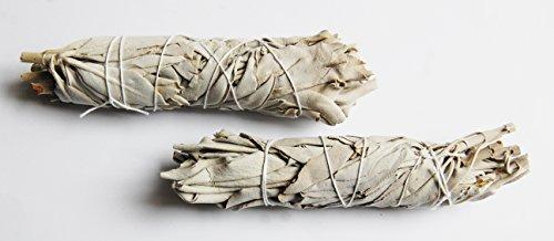 Räucherwerk, Weisser Salbei (Smudge Stick) mini, 2 Stück