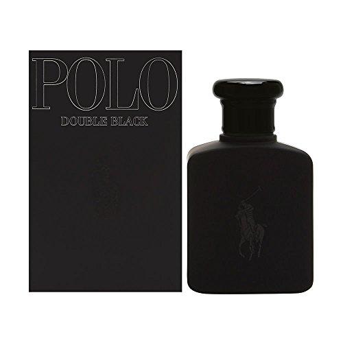Polo Double Black by Ralph Lauren for Men, Eau De Toilette Natural Spray, 2.5 fl oz