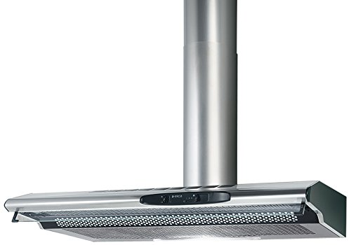 Elica TOTEM ST IX F/90 Wall-mounted Stainless steel 200m³/h - cooker hoods (200 m³/h, Recirculating, 51 dB, 63 dB, 60 cm, 75 cm)
