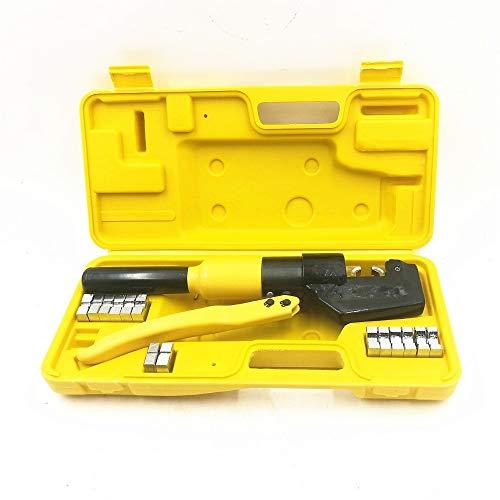 Herramientas Herramienta que prensa hidráulica hidráulica que prensa hidráulica de compresión alicates herramienta de rango 4-70MM2 5-6T Presión herramientas